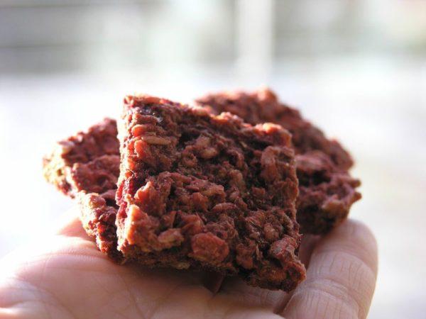 ciasteczka buraczkowe